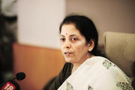 A file photo of commerce minister Nirmala Sitharaman. Photo: Pradeep Gaur/Mint
