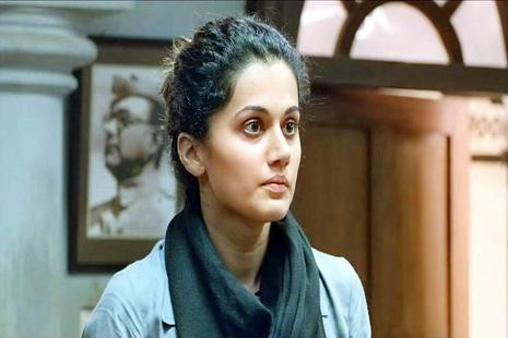 A still of Taapsee Pannu from movie 'Pink'.