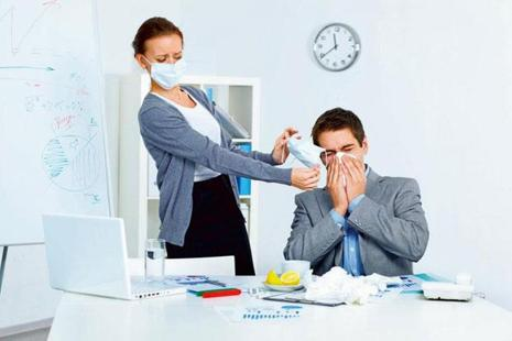 Don't ignore a cough or cold, and take some time off to recuperate if the doctor recommends it. Photo: iStock