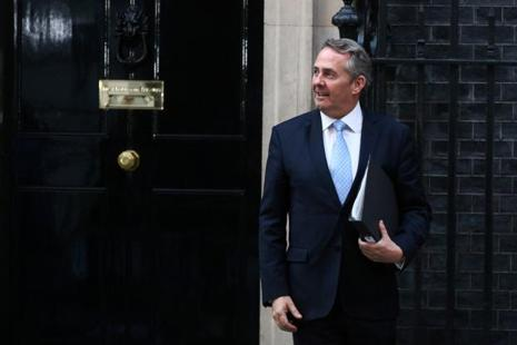 Trade minister Liam Fox would use a speech at the WTO on Tuesday to say Britain would seek to be an independent member of the body so that it could negotiate its own trade deals outside of the EU. Photo: Bloomberg