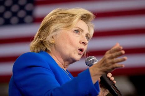 Former secretary of state and Democratic presidential candidate Hillary Clinton has collected $21.1 million for her campaign and its supporting political action committees from 17 US donors on the Bloomberg Billionaires Index. Photo: AP