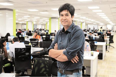 A file photo of Rajiv Bansal. Infosys has paid two of 10 instalments of the severance pay of Rs17.38 crore promised to Bansal. Photo: Hemant Mishra/Mint