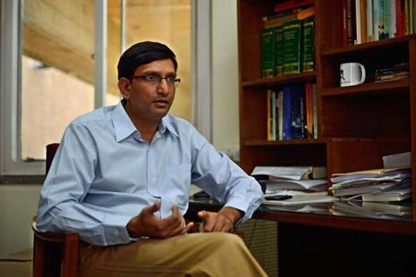 A file photo of Srinath Raghavan, a former Indian Army officer, now with the New Delhi based Centre for Policy Research think tank. Photo: Mint