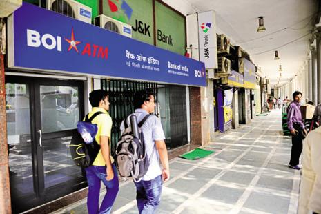 Bank of India stock closed 3% up at Rs120 per share on BSE. Photo: Pradeep Gaur/Mint