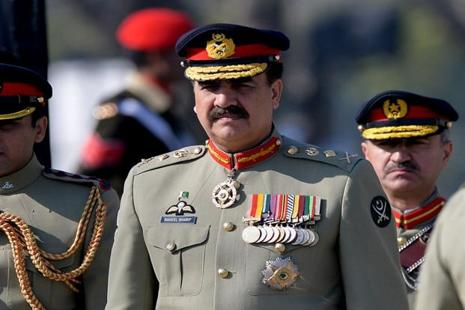 A file photo of Pakistan army chief Raheel Sharif. Photo: AFP