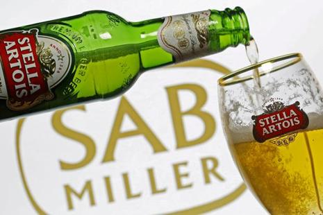 SABMiller shareholders are meeting separately Wednesday, in London, and most of them voting by proxy support the takeover, people familiar with the matter said on Tuesday. Photo: Reuters