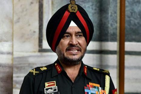 Director general of military operations Ranbir Singh. Photo: PTI