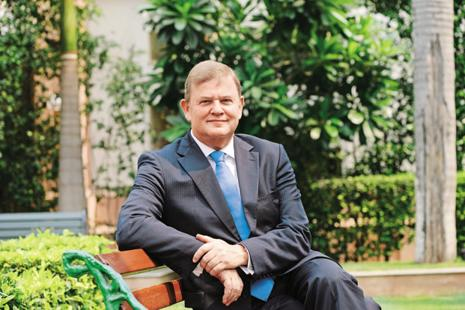 Vitamin maker Royal DSM  chairman Feike Sijbesma wants the €8 billion Dutch multinational to expand in India at a faster clip than the country's growth rate. Photo: Ramesh Pathania/Mint