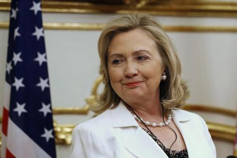 A file photo of Democratic presidential nominee Hillary Clinton. Photo: Reuters