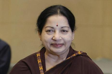 A file photo of Tamil Nadu chief minister J.Jayalalithaa. Photo: PTI