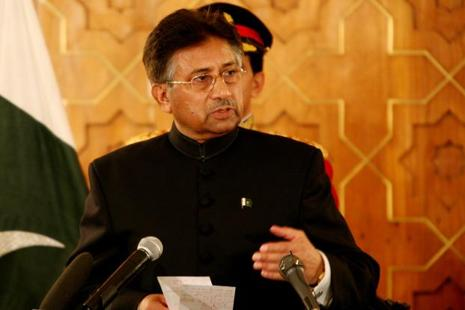 Former Pakistan President Pervez Musharraf was speaking at an interview at the Washington Ideas Forum in Washington. Photo: Bloomberg
