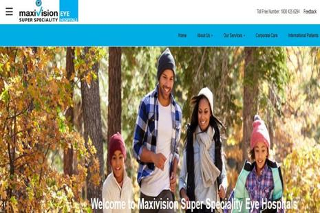 Maxivision Super Specialty Eye Hospitals presently has a network of more than 12 super-specialty hospitals in six cities including Hyderabad, Chennai and Delhi.
