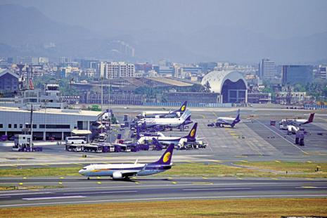 Mumbai International Airport, which sees 48-52 flights take off or land on a single runway every hour, has stopped giving new slots. Photo: Aniruddha Chowdhury/Mint