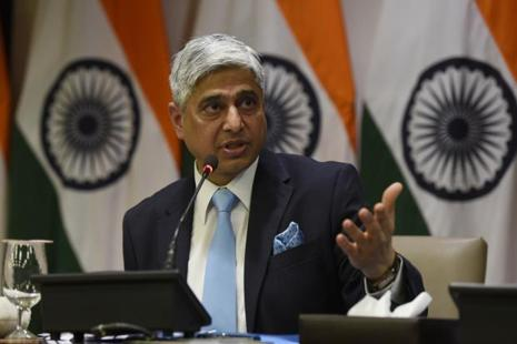 Vikas Swarup's allusion was to Pakistan's use of terrorism as an instrument of state policy to achieve its political goals vis a vis India and Afghanistan. Photo: HT
