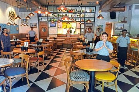 Gastropub Madeira & Mime is run by hearing- and speech-impaired waitstaff.