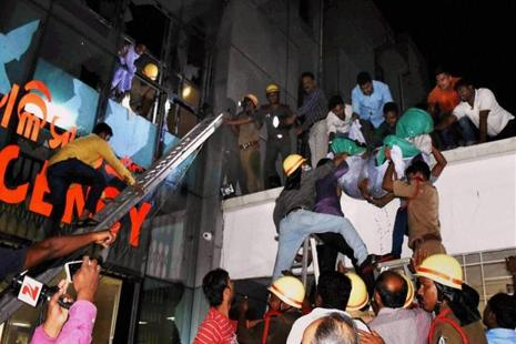 Odisha BJP had on Thursday lodged a police complaint against the chief minister and health minister over the hospital fire. Photo: PTI