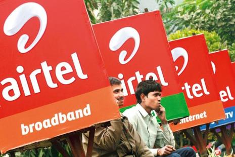Airtel, India's largest mobile operator, enjoys a 33% market share, according to the latest data by cellular association COAI. Photo: Reuters