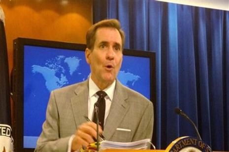 A file photo of  US state department spokesperson John Kirby. Photo: PTI