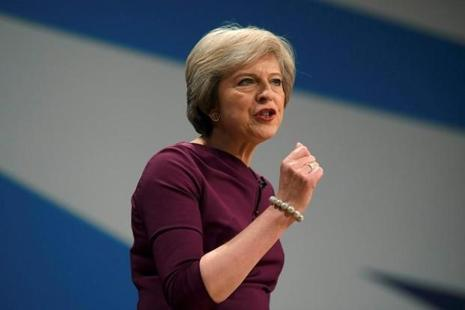 British Prime Minister Theresa May Photo: Reuters