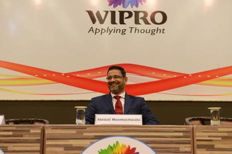 Wipro chief executive officer Abidali Neemuchwala says that the compony is well-positioned and on its way to make itself a future-ready firm. Photo: Hemant Mishra/Mint