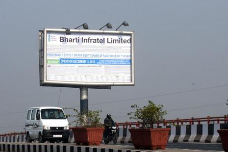 Bharti Infratel had registered net profit of Rs591.3 crore in the same period of last fiscal year. Photo: Pradeep Gaur/ Mint