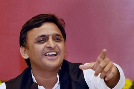 A three-time Lok Sabha member, Akhilesh Yadav was first elected to the 13thLok Sabha in a by-election from Kannauj in 2000. Photo: PTI