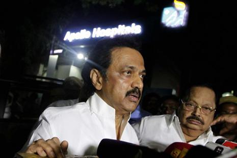 An all-party meeting  could also be seen as another occasion for MK Stalin to display that he is the emerging boss in the DMK. Photo: PTI