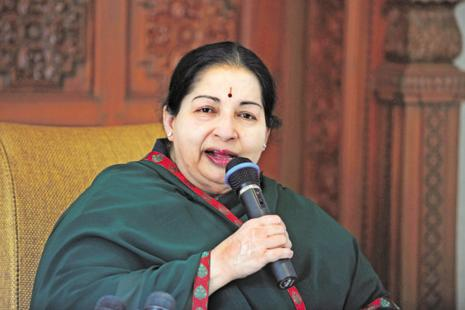 AIADMK supremo Jayalalithaa has been undergoing treatment in Apollo hospital since 22 September. Photo: AFP