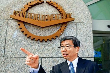 Asian Development Bank president Takehiko Nakao. Photo:Reuters