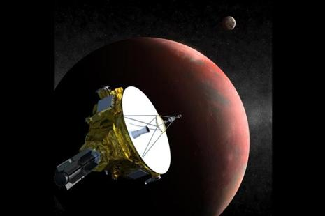 New Horizons swooped past Pluto on 14 July 2015. photo:AFP