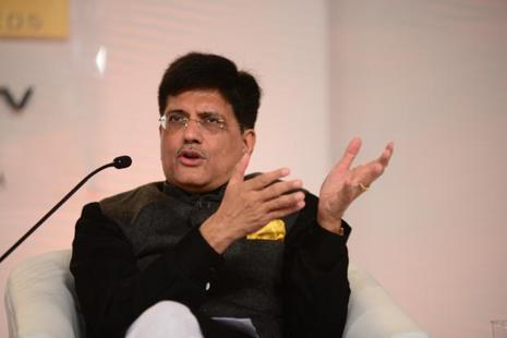 Piyush Goyal says India has tremendous potential to change, it loves disruptive change. Photo: Ramesh Pathania/Mint