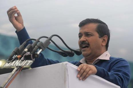 A file photo of Delhi chief minister Arvind Kejriwal. Photo: AFP
