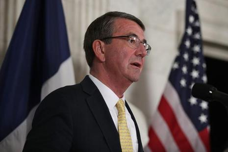 The outgoing US defence secretary Ashton Carter's last overseas trip includes Japan, India, Israel, Bahrain, Italy and the UK. Photo: Getty Images/AFP