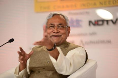 Bihar chief minister Nitish Kumar said he will support any move that is against corruption. Photo: Ramesh Pathania/Mint