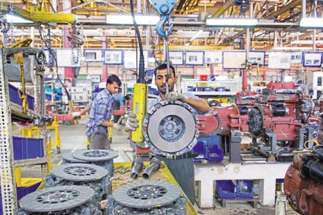 The Institute of International Finance finds that in terms of hard data, economic strength came entirely from the trade component, while industrial production slipped for emerging market economies. Photo: Mint
