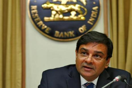 RBI governor Urjit Patel speaks during a news conference after the bimonthly monetary policy review in Mumbai on Wednesday. Photo: Reuters
