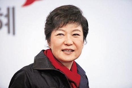 A file photo of South Korea President Park Geun-hye. Photo: Bloomberg