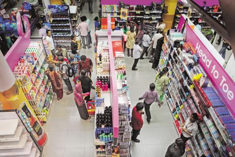Packaged consumer goods firms' performance in the first half was not up to the mark. Photo: Indranil Bhoumik/Mint