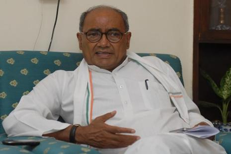 A file photo of Digvijay Singh, All India Congress Committee general secretary. Photo: HT