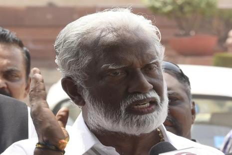 Kummanam Rajasekharan says his strong personal and religious convictions give him the courage to stand up to Kerala's established politicians. Photo: Hindustan Times
