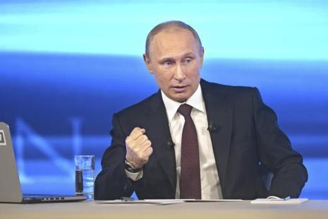 A file photo of Russian president Vladimir Putin. Photo: Reuters