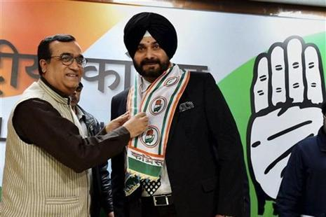 Navjot Singh Sidhu, a three-time Lok Sabha MP from Amritsar, was born in Patiala, Punjab. Photo: PTI