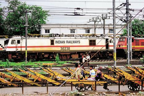 The gross budgetary support for railways was around Rs45,000 crore for the current fiscal year. Photo: Ramesh Pathania/Mint
