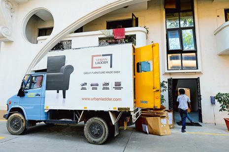 Online furniture store Urban Ladder competes with Pepperfry and Livspace. Photo: Hemant Mishra/Mint