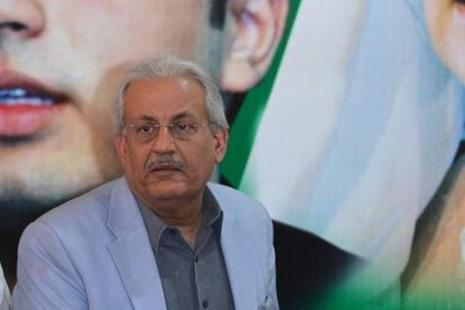 Pakistan Senate chairman Raza Rabbani informed the Senate during proceedings that he had received a receipt from the SME Bank that Rs100 million had been deposited into this account. Photo: AFP
