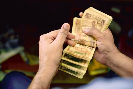 Total amount deposited in more than 60 lakh accounts, which have cash deposits of Rs2 lakh and above, is more than Rs7.34 trillion.  File photo: Mint