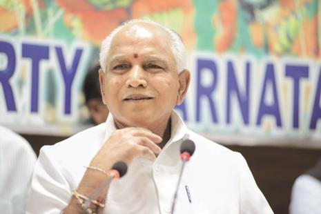 Former Karnataka CM and BJP leader B.S. Yeddyurappa. Photo: Hemant Mishra/Mint