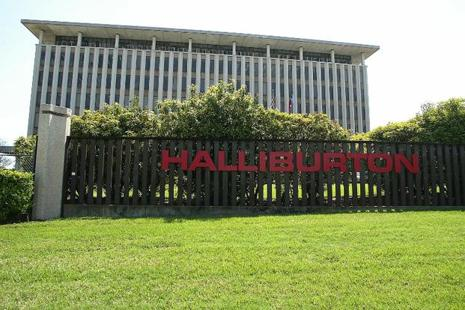 Halliburton cut thousands of workers during a downturn that saw oil fall below $30 a barrel early last year, and has been pressing customers for higher prices in order to return to profitability in North America. Photo: AFP