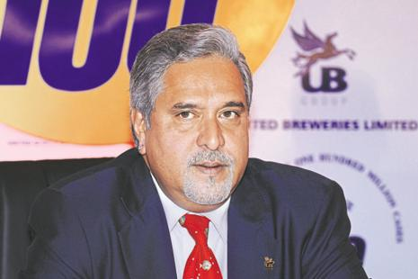 File photo. The CBI raids come days after Vijay Mallya and his associated firm received a jolt after a DRT in Bengaluru ruled in favour of State Bank of India-led consortium to recover Rs6,203.35 crore from the former Rajya Sabha MP.  Photo: Hemant Mishra/Mint