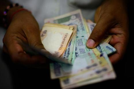 The 10-year bond yield was trading at 6.433%, compared to Friday's close of 6.465%. Photo: Mint